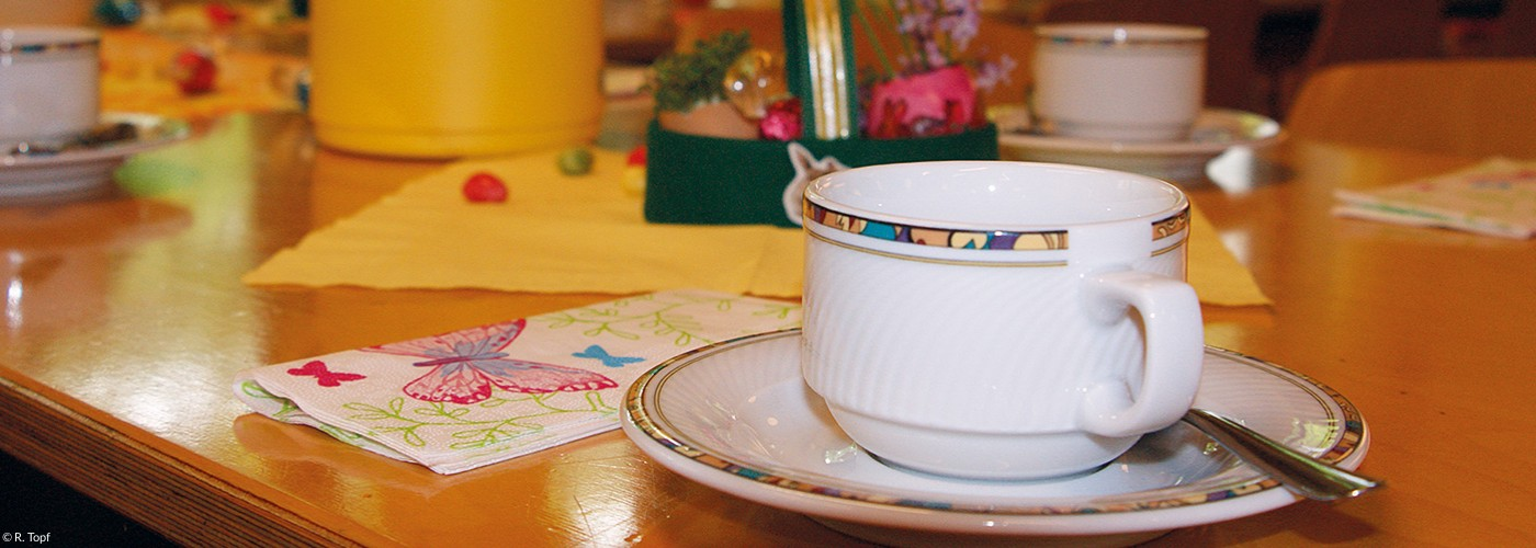 Sonntagsfrühstück im Dietrich-Bonhoeffer-Haus der Christuskirche (Quelle: R. Topf)