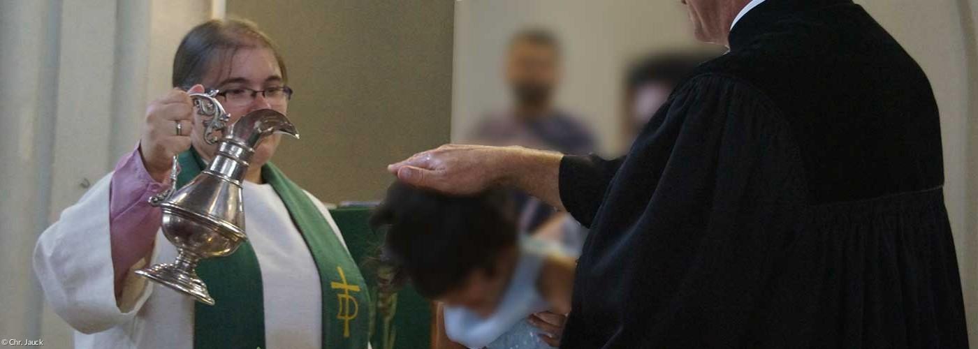 Taufgottesdienst in St. Johannis