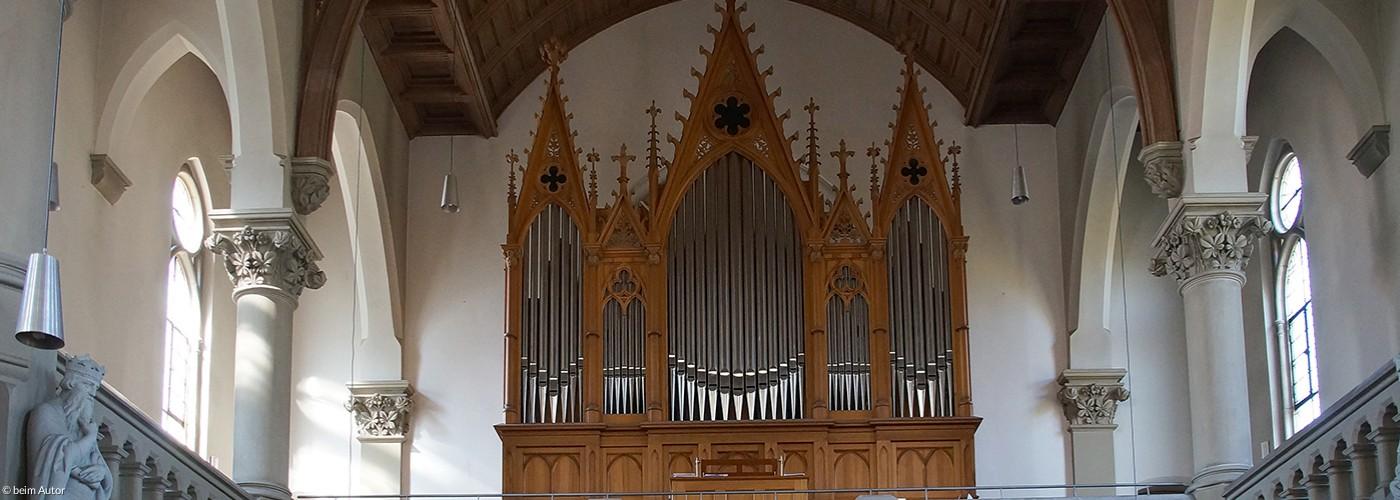 Die historische Walcker-Orgel in der St. Johanniskirche zu Forchheim