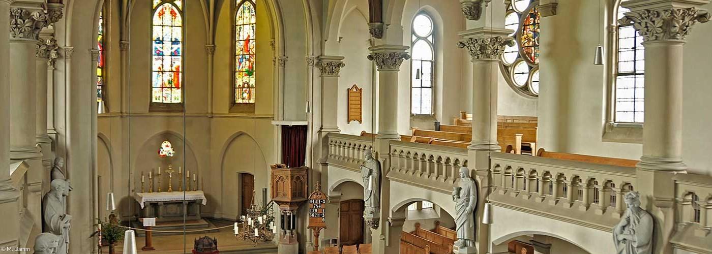 Blick in die St. Johanniskirche